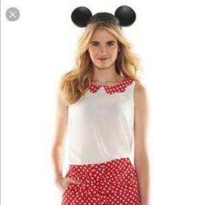 Lauren Conrad Disney Minnie Mouse Top/Shorts